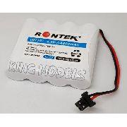 Pack Bateria Nicd 4,8v - 600mah Rontek -telefonia-modelismo
