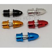 Spinner Alumínio Pequeno - Motores C/ Eixo De 3mm - 5x Cores