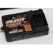 Receptor Hobby King 2ch - Rádios Tipo Pistola Gt2e - Hk-gt2e