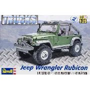 Revell - Jeep Wrangler Rubicon - Escala 1/25 - Level 2