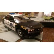 Revell - Chevy Impala Police Car- Esc.1/25 - Level 1 Snaptit