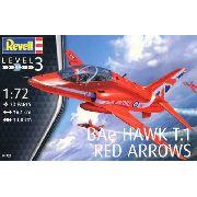 Revell - Bae Hawk T.1 Red Arrows - Esc1:72- Level 3