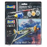 Revell - Fockewulf F8 190 Esc.1:72 Nivel 3 - Model Set 63898