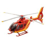 Revell - Airbus Helicopter Ec135 - Escala 1:72 - Nv4 - Red