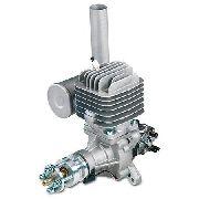 Motor Gasolina Dle 55cc - Walbro - Escape Lateral