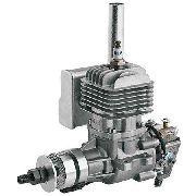 Motor Gasolina Dle 20cc - Walbro - Escape Lateral - Completo