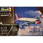Revell - C-54 D Thunderbirds - Esc1:72- Level 5 - Platinum