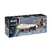 Revell - Boeing 747-8f Ups - Escala 1:144- Level 5