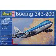 Revell - Boeing 747-200 Jumbo Jet Esc 1:450 Level 3 Klm -3999