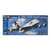 Revell - Airbus A380-800 Lufthansa - Escala 1:144 - Level 4