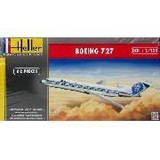 Heller - Boeing 727 Alaska Airlines - Escala 1:125 - 62pçs