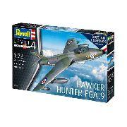 Revell - Hawker Hunter Fga.9 - Esc1:72- Level 3