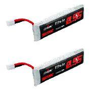 2x Pçs Bateria Para Emax Tinyhawk 1s 3.7v 550mah 50/100c