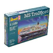 Revell - Ms Trollfjord - Escala 1:1200 - Level 3