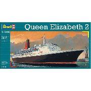 Revell - Queen Elizabeth 2 - Escala 1:1200 - Level 3