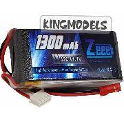 Bateria Lipo Zeee Power 3s 11.1v 1300mah 35c