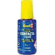 Cola Contacta Líquida 18g Com Pincel Aplicador - Revell