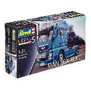Revell - Man Tgx Xlx (euro 5) - Esc.1:24 - Nv.5 Colecionador