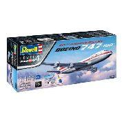 Revell - Boeing 747-100 Especial 50 Anos - Esc 1:144 Nivel 4