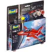 Revell - Bae Hawk T.1 Red Arrows 1:72- Level 3 - Model Set
