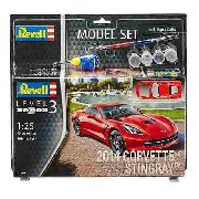 Revell - 2014 Corvette Stingray 1:25 Lv.3 - Model Set 67060