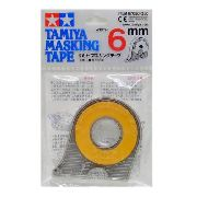 Tamiya Masking Tape 6mm - Fita Para Máscara de pintura 87030