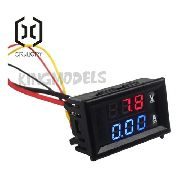Voltímetro Dc / Amperímetro Para Uso Em Eletrônica 30v 10a