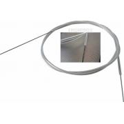 5x Pçs Arame Aço 1metro X 1mm + Conduite P/ Linkagem Aeros