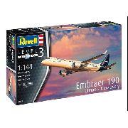 Revell Embraer 190 Lufthansa New Livery 1:144 Lv.3 Cód.3883