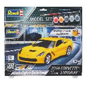 Revell 2014 Corvette Stingray Easy Click - Model Set 67449