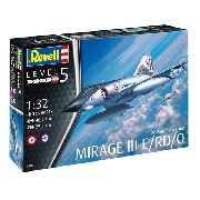Revell Dassault Mirage Iii E/rd/o 1:32 Level.5 Cód.3919