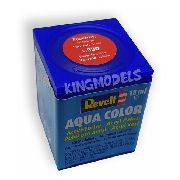 Tinta Revell - Aqua Color - Cod 36330 - Fieri Red - 18ml