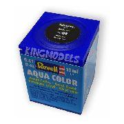 Tinta Revell - Aqua Color - Cod 36108 Black Matt 18ml