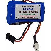 Bateria Life Rontek 2s 6.6v 600mah P/ Rádios Transmissores