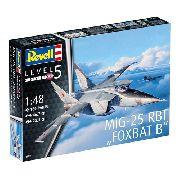 Revell Mig-25 Rbt Foxbat B 1:48 Level.5 Cód.3931