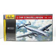 Heller - L-749 Constellation Escala 1:72 - 105pçs - 80310