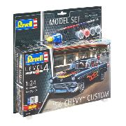 Revell '56 Chevy Custom - 1:24 - Level.4 - 67663 Model Set