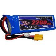 Bateria Lipo 3s 2200mah 30/60c Xt60 King Models