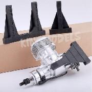 Montante De Nylon Grande P/ Motores Dle 20cc + Acessórios