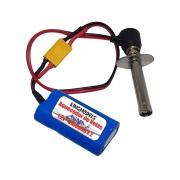 Aquecedor De Vela - Motores Glow - 2xpilhas 3100mah + Autonomia