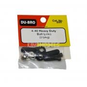 Ball Link Dubro - Heavy Duty - Dub899 - Rosca 4-40 - 2pçs