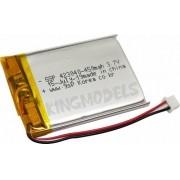 Bateria De Lipo Prismática 1s 3.7v 450mah Uso Geral C/ Pcb