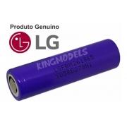 Bateria Li-ion Original LG 18650 3.6v 2600mah Vaper Lanterna