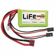 Bateria Life 2s - 6.6v - 1100mah - 10c - Original Hobbico!!