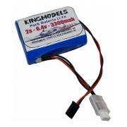 Bateria Life Rontek 2s - 6.4v - 3300mah 3c Futaba - Aeros