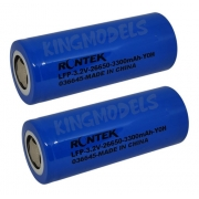 Bateria Life Rontek Cilíndrica 26650 3.2v 3300mah 2c