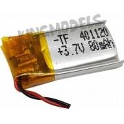 Bateria Lipo 1s 3.7v 80mah C/ Proteção - Drones / Eletrônico