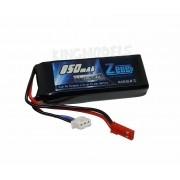 Bateria Lipo 2s 7.4v - 850mah - 30c - Jst - Top Linha