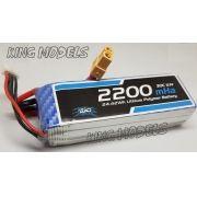 Bateria Lipo 3s 11.1v - 2200mah - 30c - Xt60 - A Melhor!!