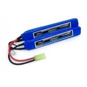 Bateria Lipo Airsoft 2s 7.4v - 2200mah - 20c/40c - Top Linha